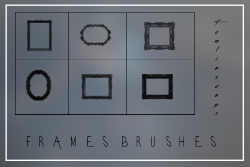 Frames Brushes by tomlinsongs
