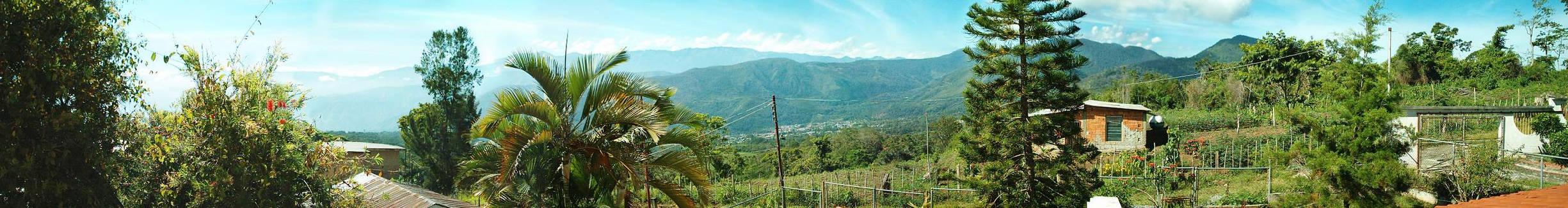 PANORAMICA ANDES VENEZOLANOS