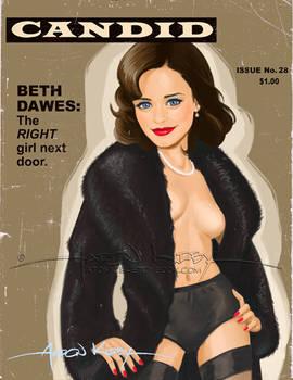 Beth Dawes in Candid2