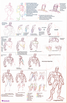 How to Draw Cayden and Male Anatomy Tutorial