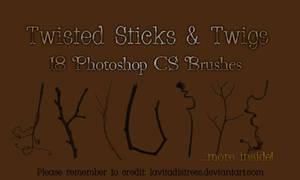 Stick Brushes 18