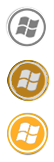 SAO Windows 7 Start Orb by Azerik92