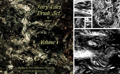 Fairy Tales Brush Set-01 by raysheaf
