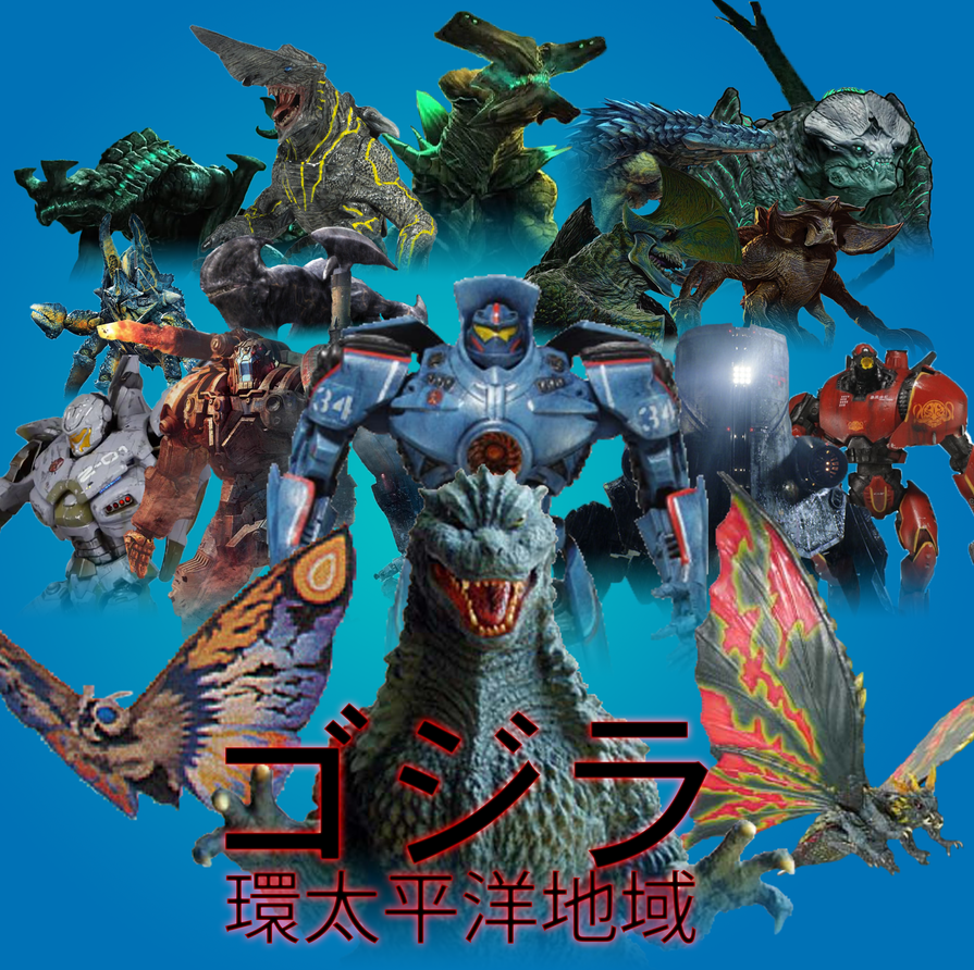 Godzilla - The Pacific Rim by Daizua123 on DeviantArt Pacific Rim Cherno Alpha Destroyed