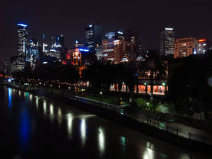 Melbourne In Motion - Riverside Activity (GIF)