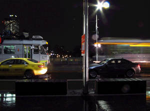 Melbourne In Motion - Tram Stop (GIF)