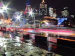 Melbourne In Motion - Tram Activity (GIF)