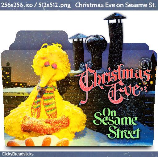 Christmas Eve On Sesame Street.Christmas Eve On Sesame Street 1978 Folder Icon By