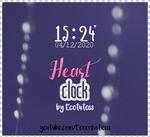 Heart Clock para XWidget