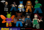 Lego Batman Icons