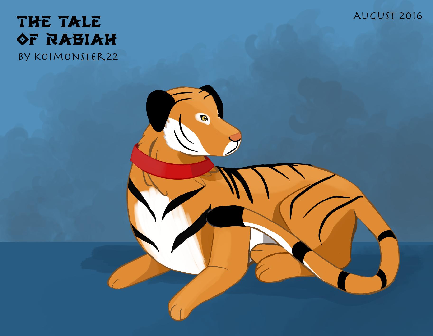 Tiger dog LOK oc (the Legend of Korra) by TheTale-Of-Rabiah