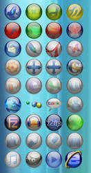 Program Bubble Icons by lehighost