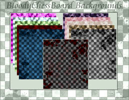 BloodyChessBoard_Backgrounds by YoshikuniShiku