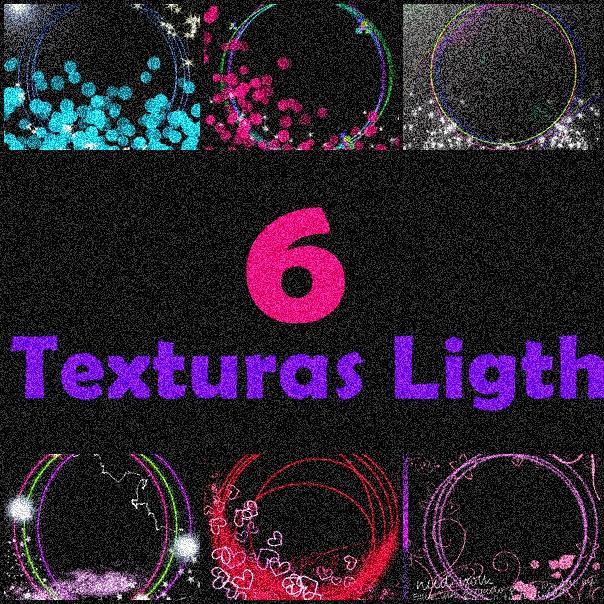 6 Texturas Ligths Super Chidas! by RohSweet ...