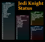 Jedi Knight Status v1.2