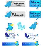 vector twitter pack