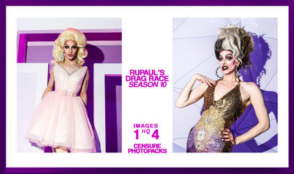// PHOTPACK 1869 - RUPAUL'S DRAG RACE SEASON 10 // by censurephotopacks