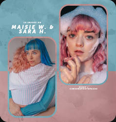 PHOTOPACK 6134 - MAISIE WILLIAMS x SARA HERRLANDER