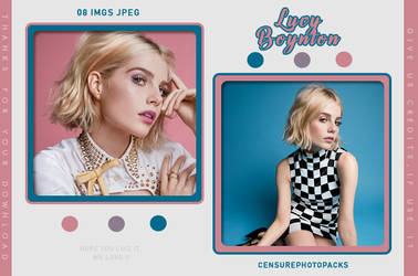 PHOTOPACK 6666 | LUCY BOYNTON by censurephotopacks