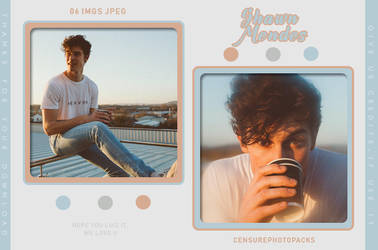 PHOTOPACK 6716 | SHAWN MENDES by censurephotopacks