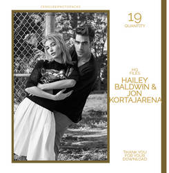 PHOTOPACK 7125 | HAILEY BALDWIN x JON KORTAJARENA by censurephotopacks