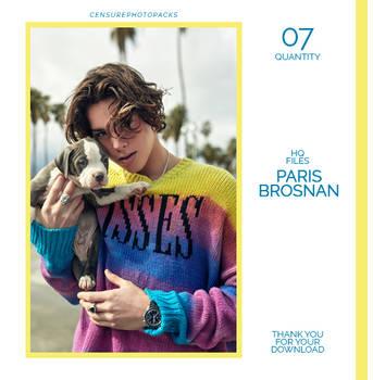 PHOTOPACK 7213   PARIS BROSNAN by censurephotopacks