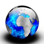 world orb icon psd