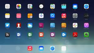 iOS 7 App Launcher