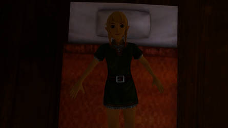 (SFM - ANIMATED GIF) Linkle goes to sleep