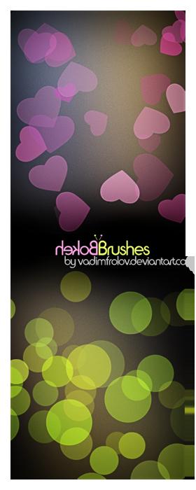 Bokeh brush set by vadimfrolov