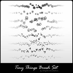 tiny things brush set