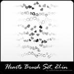 hearts_brush_set