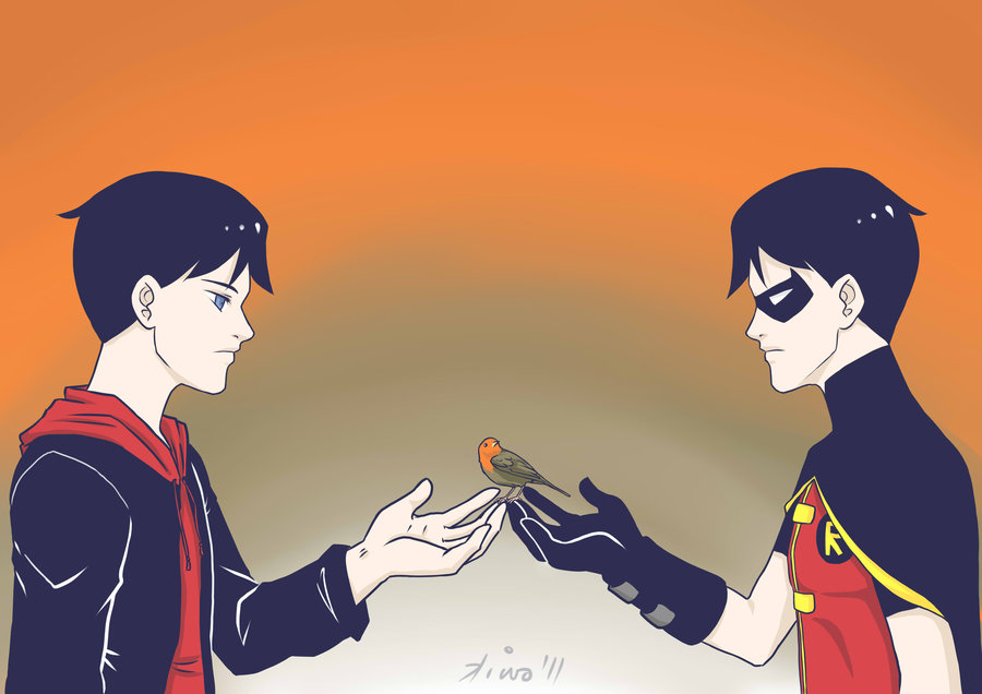 Everyone Has Their Secrets! (Reader x Robin /Dick) by