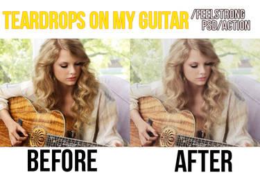 Teardrops-On-My-Guitar-psd by FeelStrong