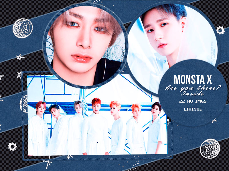Photopack] Monsta X Are You There? Inside by LiHiyue on