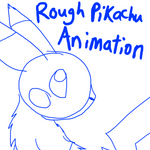 Sketched Pikachu Animation