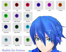 MMD Realistic Eye Textures by stormilove