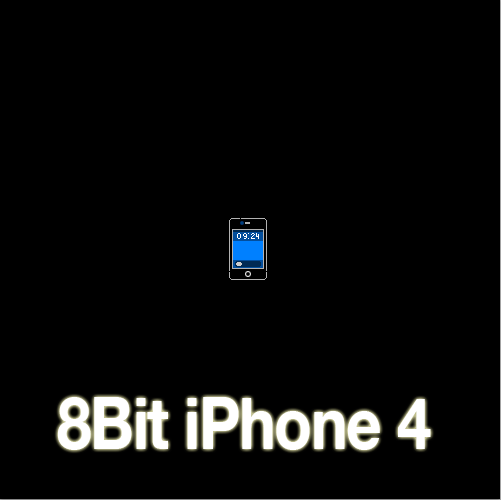 8 Bit iPhone 4 by zad0xsis
