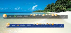 WeatherTimeBar HD by xxenium