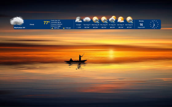Weather Time Bar HD (UPDATED 07-MAR-2021)