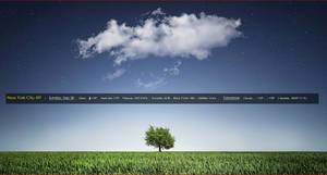 WeatherTextBar  by xxenium