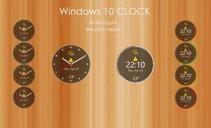 Windows 10 CLOCK (UPDATED 21-AUG-2020)