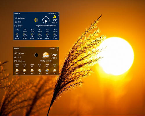 Windows 10 Weather PRO (UPDATED 21-AUG-2020)