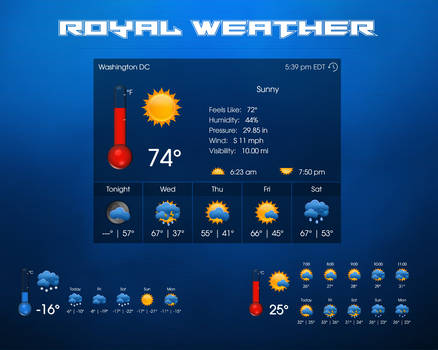 Royal Weather by xxenium