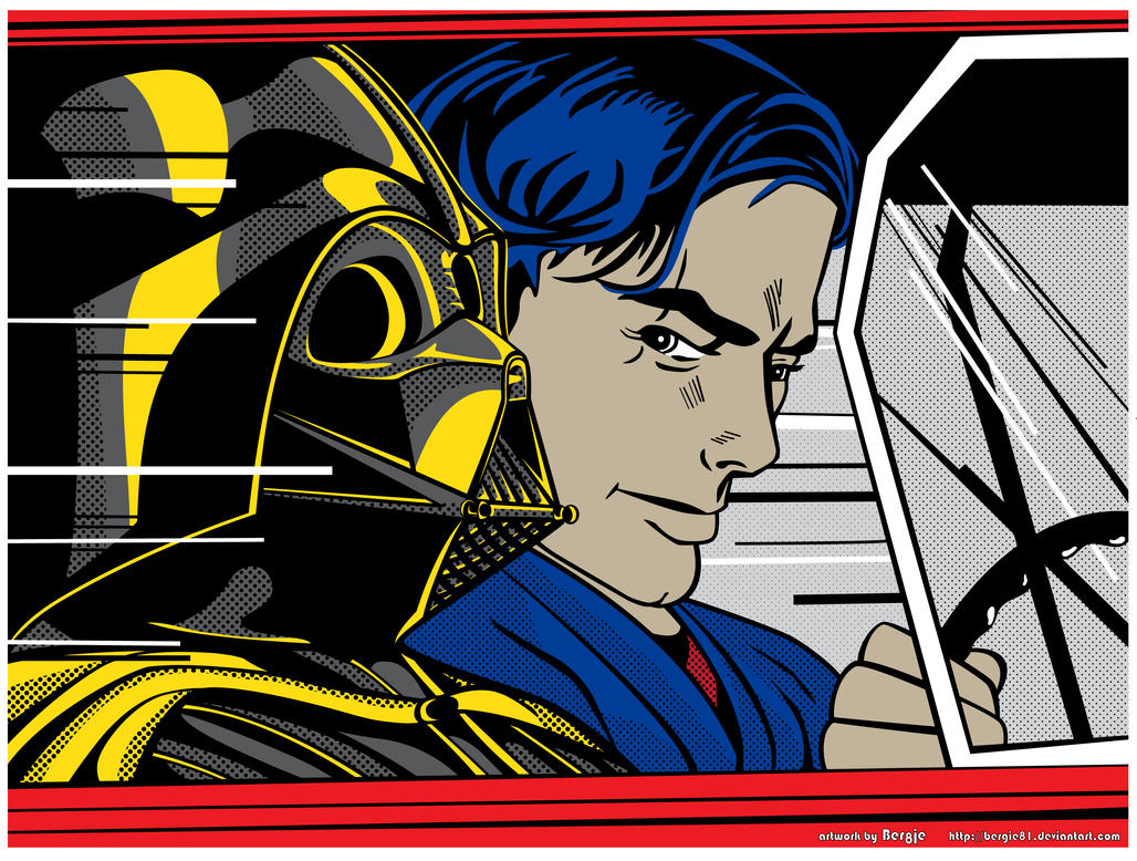 Starwars popart in the hover by bergie81 on deviantart starwars popart in the hover by bergie81 voltagebd Images