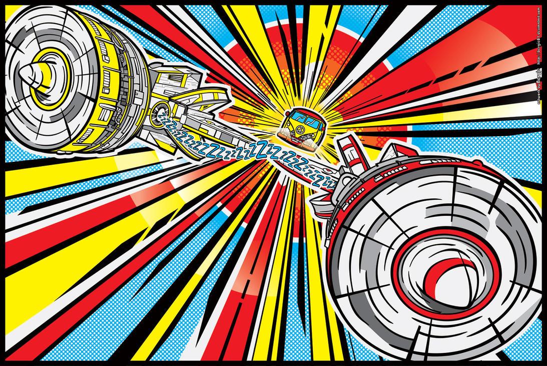 Star Wars PopArt: Peace Pod Racer by Bergie81