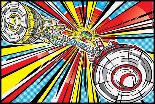 Star Wars PopArt: Peace Pod Racer