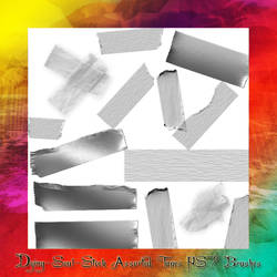 Assorted Tape Brushes