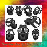 Gas Mask Brushes N.2