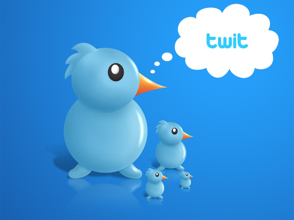 tweet bird by nishad2m8